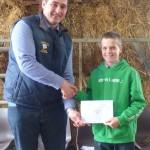 Junior Winner Bedwyr  Sienays