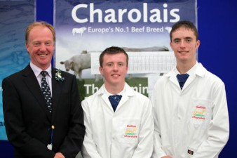 NI young enthusiasts Adam and Philip Johnston