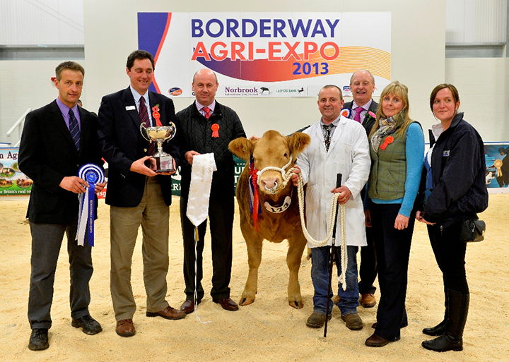 "The judge and sponsors congratulated Messrs Parry on their success with ""Jade"" the Reserve Supreme Champion"