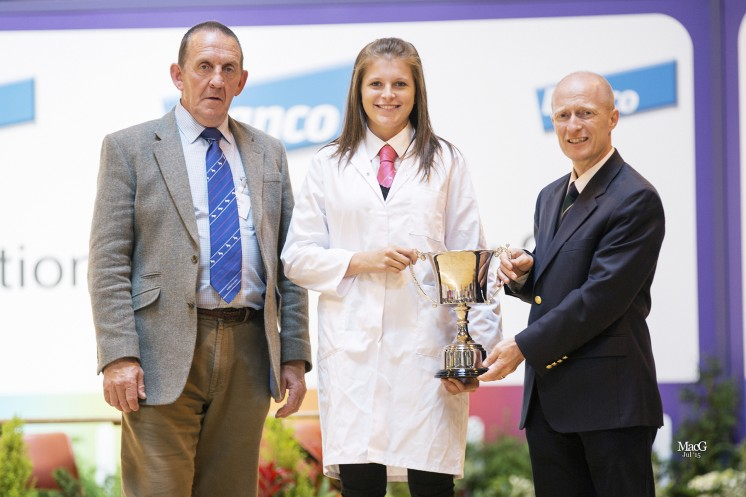 Laura Wight (Scotland) won the Alwent Trophy in the intermediate section