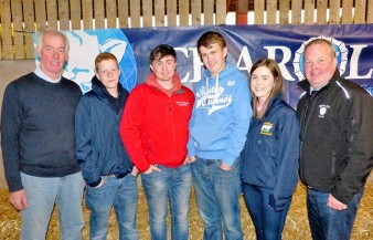 Intermediate Teams Bartley Finnegan, Gary McCammond, Matthew Mitchell & Sarah Johnston with Will Short & David Connolly