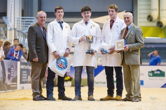 Intermediate Section from left 2nd Andrew Adam, Winner Bratley Finnegan & 3rd George Hollishead